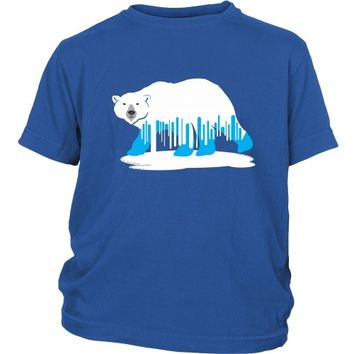 Melting Polar Bear (2) - Kid's Tee