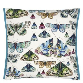 Designers Guild Issoria Outdoor Cobalt Decorative Pillow