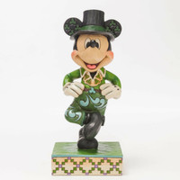 Enesco Jim Shore Disney Traditions Mickey in Ireland NIB Item 4046052