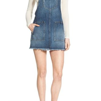 Tularosa 'Sophia' Denim Overall Dress | Nordstrom