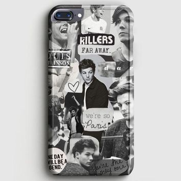 Louis Tomlinson Collage iPhone 8 Plus Case