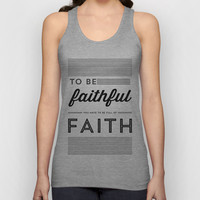 FULL OF FAITH Unisex Tank Top by Allyson Johnson