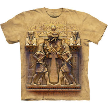 The Mountain Immortal Combat T-Shirt Egyptian Horus Anubis God Mythology Battle