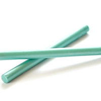 2 Metallic Green Glue Gun Sealing Wax Stick for Wax Seal Stamp