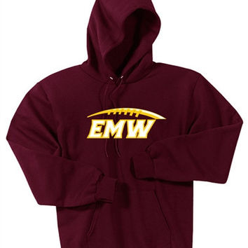 EMW Football Port & Company® Mens- Ultimate Pullover Hooded Sweatshirt