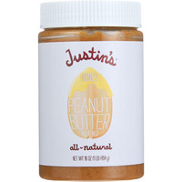 Justins Nut Butter Peanut Butter Blend - Honey - Jar - 16 oz - case of 12