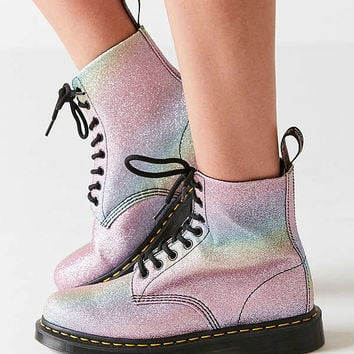 Dr. Martens Pascal Rainbow Glitter Boot | Urban Outfitters