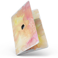 """Pinkish 423971 Absorbed Watercolor Texture - 13"""" MacBook Pro without Touch Bar Skin Kit"""