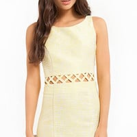 Cut Out the Waist Dress $47