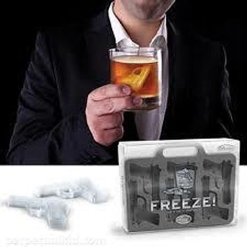 Freeze! - Gun Ice Cube Trays