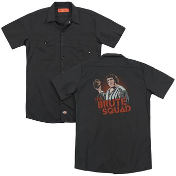 Pb - Brute Squad (Back Print) Adult Work Shirt