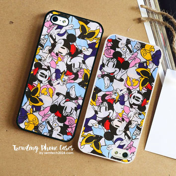 Minnie Mouse Daisy Duck  iPhone Case Cover for iPhone 6 6 Plus 5s 5 5c 4s 4 Case