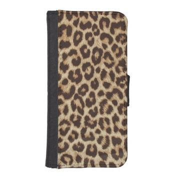 Leopard Print iPhone 5 Wallet Case