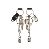Assorted Silver-Tone Charm Accent Earrings