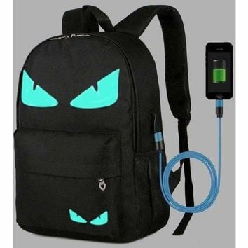 Boys School Backpack Student USB Charge Changeover Joint School Bags For Teenager Computer Bag