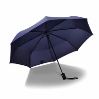 Strong Character Stylish Design Folded Outdoors King Size Umbrella [10151687116]
