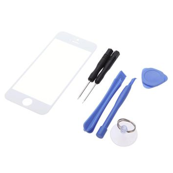 7-in-1 Phone Touch Screen Glass Replacement Screwdriver Scraper Suction Cup Disassemble Tool for iPhone6 6 Plus 5 5S HTC Samsung