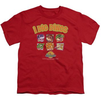 Land Before Time - I Dig Dinos Short Sleeve Youth 18/1