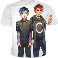 Dan And Phil Punk Edits Shirt