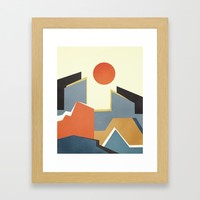 Abstract Architecture 03 Framed Art Print by marcogonzalez