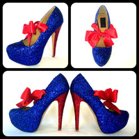 The Super Glitter High Heels
