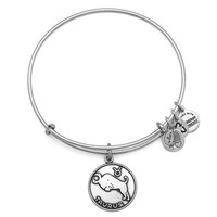 Alex and Ani Taurus Charm Bangle Bracelet - Rafaelian Silver Finish