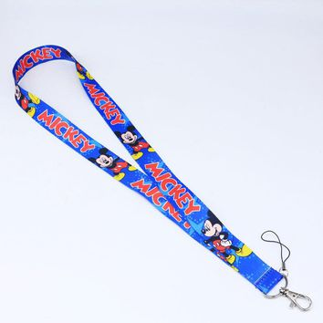 Brand New Disney Mickey Blue Lanyard
