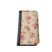 Floral iPhone 5C wallet case MADE IN USA - different designs flip case (Floral)