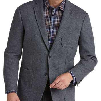 Joseph Abboud Blue Modern Fit Soft Coat - Sport Coats | Men's Wearhouse