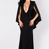 Addicted To Love Dress - Black