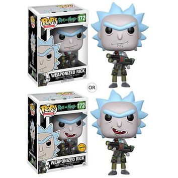 Funko Rick and Morty Pop! Animation Weaponized Rick Vinyl Figure