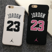 Famous Basketball Champion No 23 Jordan Case for iPhone 6 6 Plus hard back phone cases