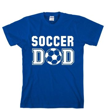 Soccer DAD Unisex Adult T-shirt - Great Gift For Awesome DAD