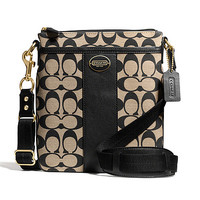 COACH Legacy Swingpack In Printed Signature Fabric