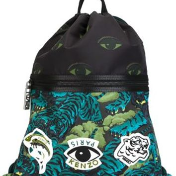 Kenzo Multi Logo Backpack - Cumini - Farfetch.com