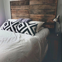 SIMPLICITY HEADBOARD - salvaged wood