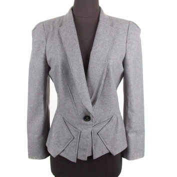Women's Alexander Mcqueen Grey Jacket