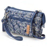 Donna Sharp Deidre Convertible Crossbody Wallet