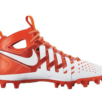 Nike Huarache 5 Lacrosse Cleats - White/Orange | Lacrosse Unlimited