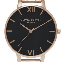 Olivia Burton 'Big Dial' Bracelet Watch, 38mm | Nordstrom