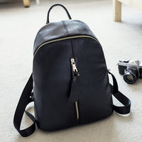 Fashion Women Genuine Leather Backpack Shoulder Bag Female Casual Crossbody Messenger Bags Chic Handbag Gift 40