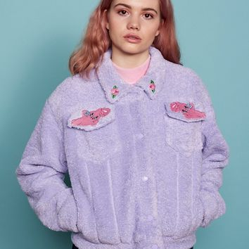 Esther Loves Oaf Lazy Bunny Jacket - Esther Loves Oaf - Featured - Womens