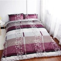 Flowers Floral Bedding sets King Printing Duvet cover set