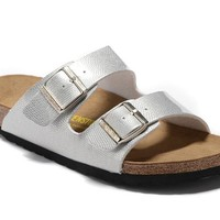 Men's and Women's BIRKENSTOCK sandals Arizona Birko-Flor 632632288-081