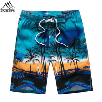 SAENSHING Beach board shorts men summer bermuda surfing shorts quick dry boardshorts bermuda surf homem mens swimming shorts