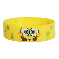 SpongeBob SquarePants Face Rubber Bracelet