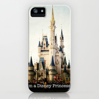 IM A DISNEY PRINCESS iPhone Case by Star4ever  | Society6
