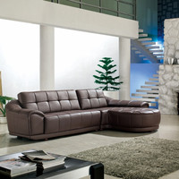 Divani Casa 2912A - Bonded Leather Sectional Sofa