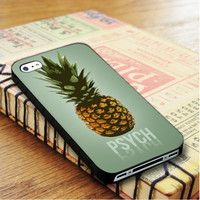 Pineaple Psych iPhone 4 Or 4S Case