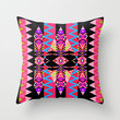 Tribal Mix #4 Throw Pillow by Ornaart | Society6